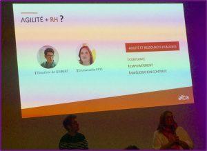 L'agilité appliqué aux Ressources Humaines (RH) avec Extia à Agile en Seine 2018