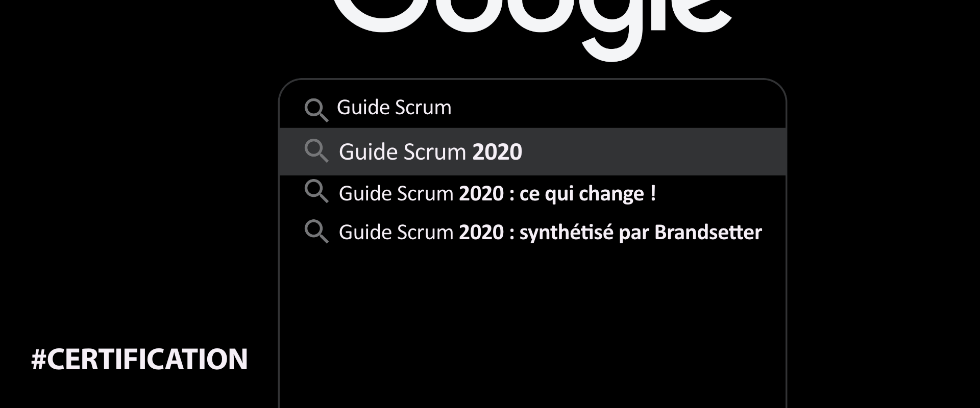 guide scrum 2020 changements